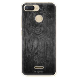 Plastové pouzdro iSaprio Black Wood 13 na mobil Xiaomi Redmi 6
