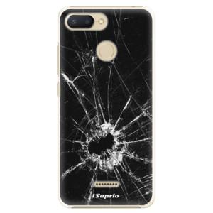 Plastové pouzdro iSaprio Broken Glass 10 na mobil Xiaomi Redmi 6