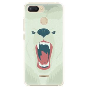 Plastové pouzdro iSaprio Naštvanej Medvěd na mobil Xiaomi Redmi 6