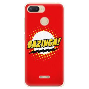 Plastové pouzdro iSaprio Bazinga 01 na mobil Xiaomi Redmi 6