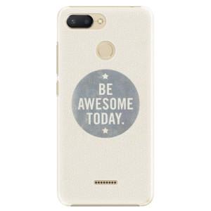 Plastové pouzdro iSaprio Awesome 02 na mobil Xiaomi Redmi 6