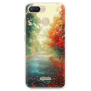 Plastové pouzdro iSaprio Podzim 03 na mobil Xiaomi Redmi 6