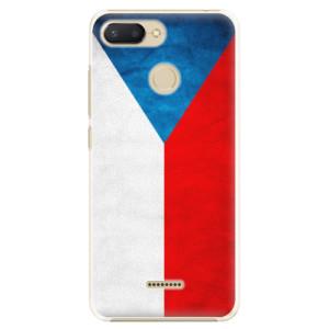 Plastové pouzdro iSaprio Česká Vlajka na mobil Xiaomi Redmi 6