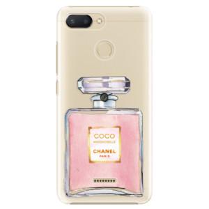 Plastové pouzdro iSaprio Chanel Rose na mobil Xiaomi Redmi 6