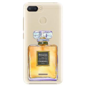 Plastové pouzdro iSaprio Chanel Gold na mobil Xiaomi Redmi 6