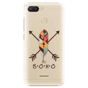 Plastové pouzdro iSaprio BOHO na mobil Xiaomi Redmi 6