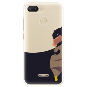 Plastové pouzdro iSaprio BaT Komiks na mobil Xiaomi Redmi 6