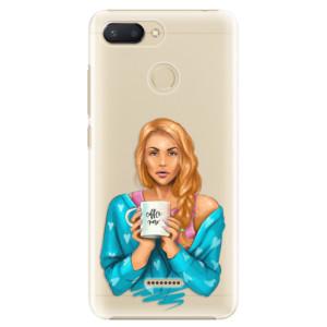 Plastové pouzdro iSaprio Coffee Now Zrzka na mobil Xiaomi Redmi 6