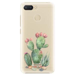Plastové pouzdro iSaprio Kaktusy 01 na mobil Xiaomi Redmi 6