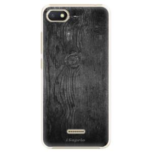 Plastové pouzdro iSaprio Black Wood 13 na mobil Xiaomi Redmi 6A