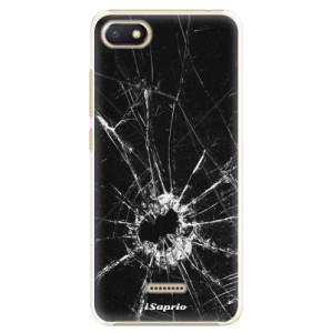 Plastové pouzdro iSaprio Broken Glass 10 na mobil Xiaomi Redmi 6A