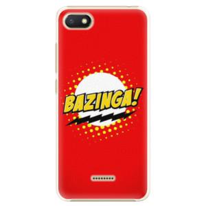 Plastové pouzdro iSaprio Bazinga 01 na mobil Xiaomi Redmi 6A