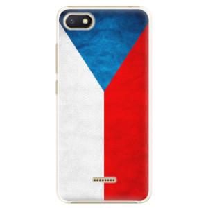 Plastové pouzdro iSaprio Česká Vlajka na mobil Xiaomi Redmi 6A