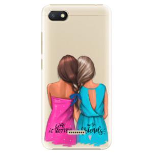Plastové pouzdro iSaprio Best Friends na mobil Xiaomi Redmi 6A