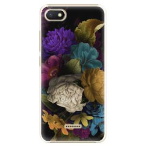 Plastové pouzdro iSaprio Temné Květy na mobil Xiaomi Redmi 6A