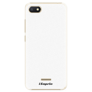 Plastové pouzdro iSaprio 4Pure bílé na mobil Xiaomi Redmi 6A