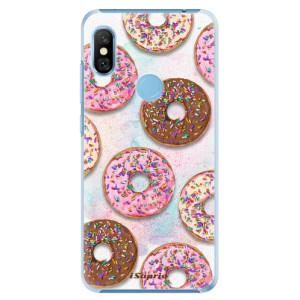 Plastové pouzdro iSaprio Donutky Všude 11 na mobil Xiaomi Redmi Note 6 Pro