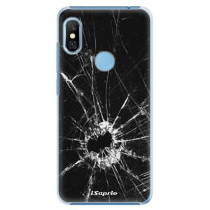 Plastové pouzdro iSaprio Broken Glass 10 na mobil Xiaomi Redmi Note 6 Pro