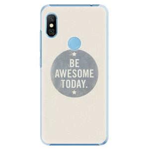 Plastové pouzdro iSaprio Awesome 02 na mobil Xiaomi Redmi Note 6 Pro
