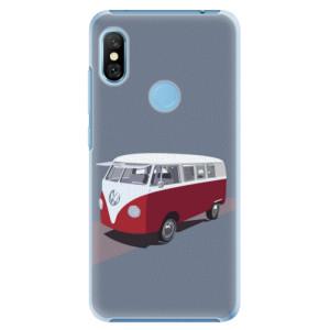Plastové pouzdro iSaprio VW Bus na mobil Xiaomi Redmi Note 6 Pro