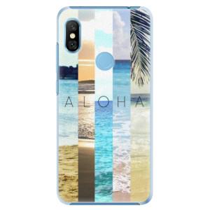 Plastové pouzdro iSaprio Aloha 02 na mobil Xiaomi Redmi Note 6 Pro