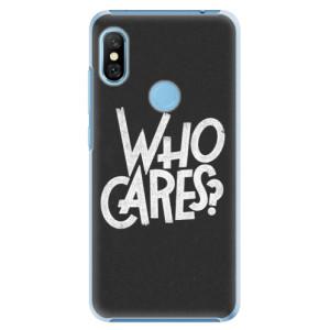Plastové pouzdro iSaprio Who Cares na mobil Xiaomi Redmi Note 6 Pro