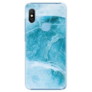 Plastové pouzdro iSaprio Blue Marble na mobil Xiaomi Redmi Note 6 Pro