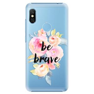 Plastové pouzdro iSaprio Be Brave na mobil Xiaomi Redmi Note 6 Pro