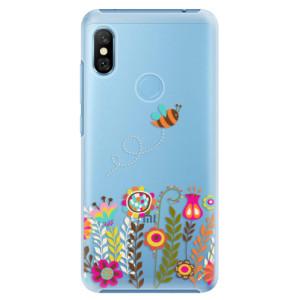 Plastové pouzdro iSaprio Včelka Pája 01 na mobil Xiaomi Redmi Note 6 Pro