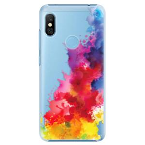 Plastové pouzdro iSaprio Color Splash 01 na mobil Xiaomi Redmi Note 6 Pro