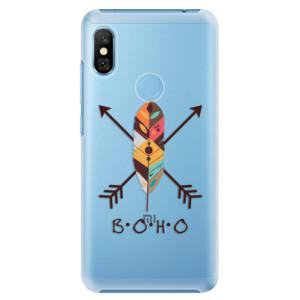 Plastové pouzdro iSaprio BOHO na mobil Xiaomi Redmi Note 6 Pro