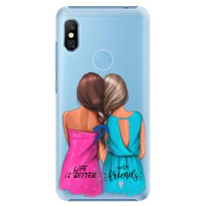 Plastové pouzdro iSaprio Best Friends na mobil Xiaomi Redmi Note 6 Pro