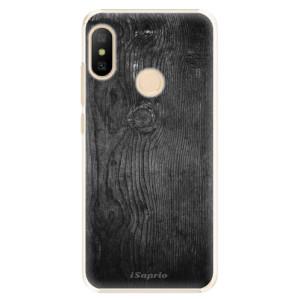 Plastové pouzdro iSaprio Black Wood 13 na mobil Xiaomi Mi A2 Lite