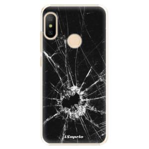 Plastové pouzdro iSaprio Broken Glass 10 na mobil Xiaomi Mi A2 Lite