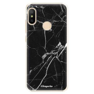 Plastové pouzdro iSaprio Black Marble 18 na mobil Xiaomi Mi A2 Lite