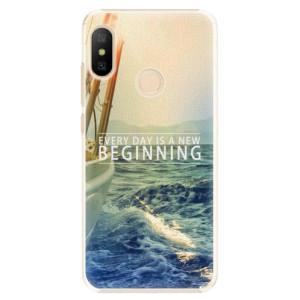 Plastové pouzdro iSaprio Beginning na mobil Xiaomi Mi A2 Lite