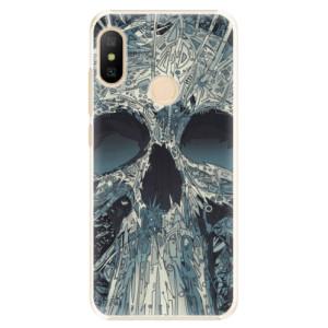 Plastové pouzdro iSaprio Abstract Skull na mobil Xiaomi Mi A2 Lite