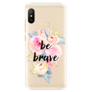 Plastové pouzdro iSaprio Be Brave na mobil Xiaomi Mi A2 Lite