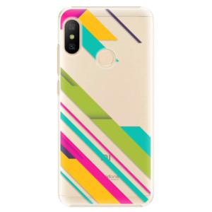 Plastové pouzdro iSaprio Barevné Pruhy 03 na mobil Xiaomi Mi A2 Lite
