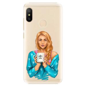 Plastové pouzdro iSaprio Coffee Now Zrzka na mobil Xiaomi Mi A2 Lite