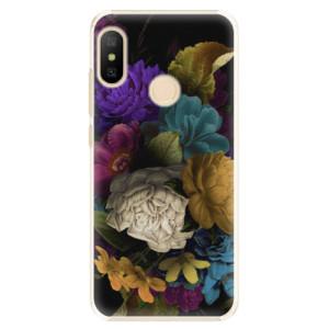 Plastové pouzdro iSaprio Temné Květy na mobil Xiaomi Mi A2 Lite