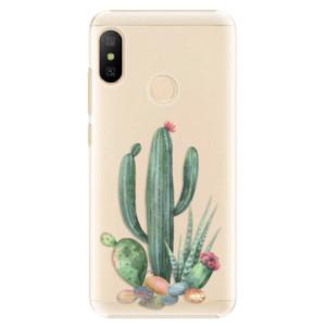 Plastové pouzdro iSaprio Kaktusy 02 na mobil Xiaomi Mi A2 Lite