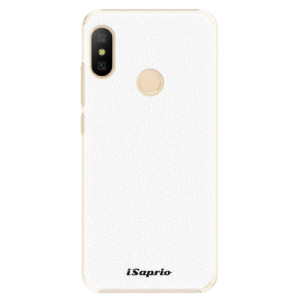 Plastové pouzdro iSaprio 4Pure bílé na mobil Xiaomi Mi A2 Lite
