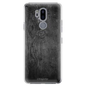 Plastové pouzdro iSaprio Black Wood 13 na mobil LG G7