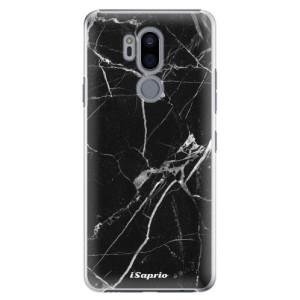 Plastové pouzdro iSaprio Black Marble 18 na mobil LG G7