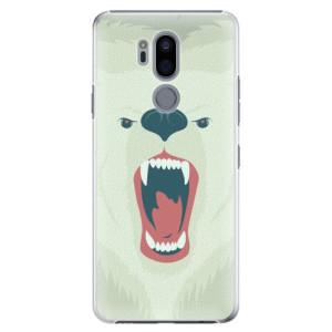 Plastové pouzdro iSaprio Naštvanej Medvěd na mobil LG G7