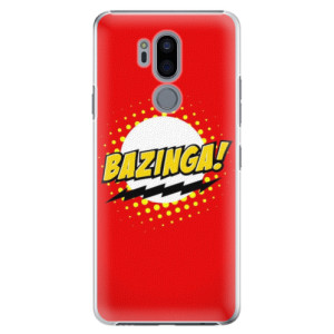 Plastové pouzdro iSaprio Bazinga 01 na mobil LG G7