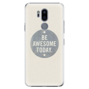 Plastové pouzdro iSaprio Awesome 02 na mobil LG G7