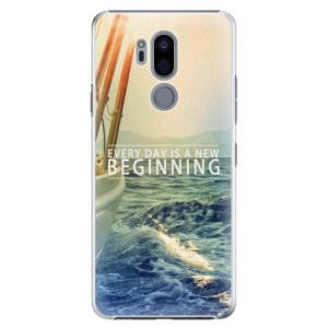 Plastové pouzdro iSaprio Beginning na mobil LG G7