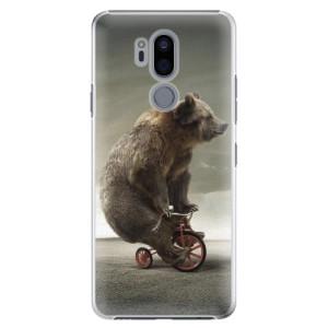 Plastové pouzdro iSaprio Medvěd 01 na mobil LG G7